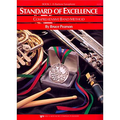 KJOS Standard of Excellence Book 1 Baritone Sax