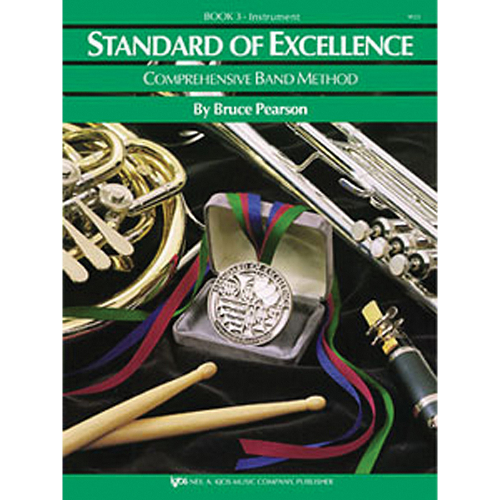 KJOS Standard of Excellence Book 3 bass clarinet