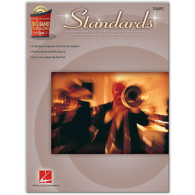 Hal Leonard Standards - Big Band Play-Along Vol. 7 Trumpet