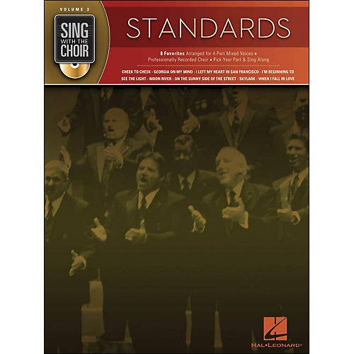 Hal Leonard Standards - Sing with The Choir Series Volume 3 Book/CD