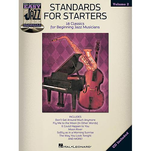 Hal Leonard Standards For Starters - Easy Jazz Play-Along Vol. 2 Book/CD