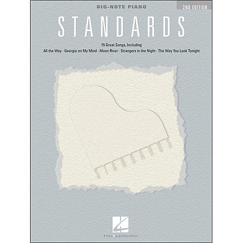 Hal Leonard Standards for Big Note Piano