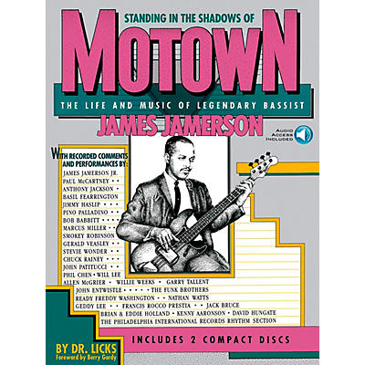 Hal Leonard Standing in the Shadows of Motown Book/Online Audio