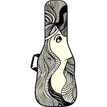 BOLDFACE Star Gazer Electric Guitar Gig Bag w/ Graphic Face Panel