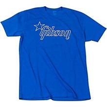 Star Logo T-Shirt Large Blue