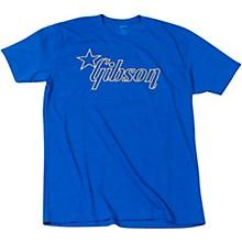 Star Logo T-Shirt Medium Blue