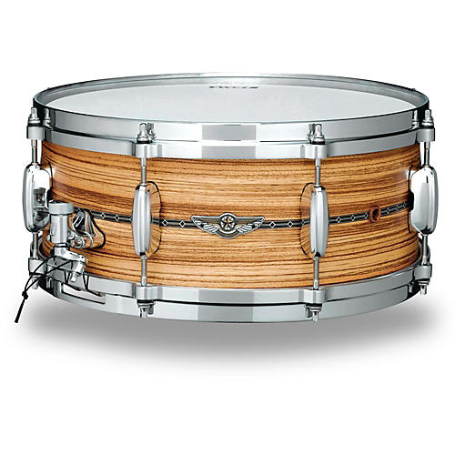 TAMA Star Series Solid Zebrawood Snare Drum