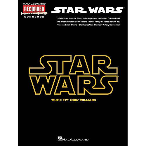 Hal Leonard Star Wars - Recorder Songbook