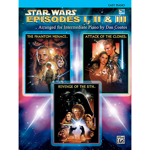 Alfred Star Wars: Episodes I, II & III Easy Piano Songbook