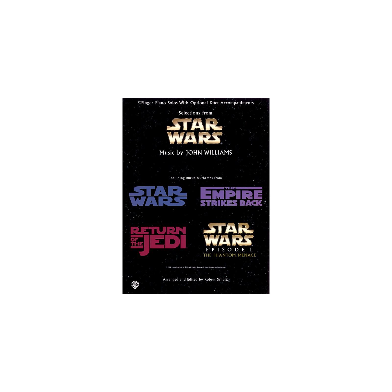 Hal Leonard Star Wars Five Finger Piano Book