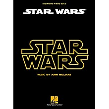 Hal Leonard Star Wars For Beginning Piano Solo