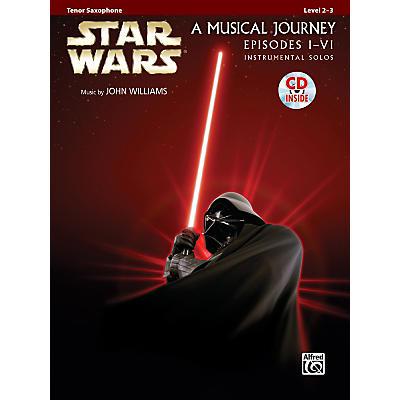Alfred Star Wars Instrumental Solos (Movies I-VI) Tenor Sax Book & CD