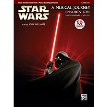 Alfred Star Wars Instrumental Solos for Strings (Movies I-VI) Viola Book & CD