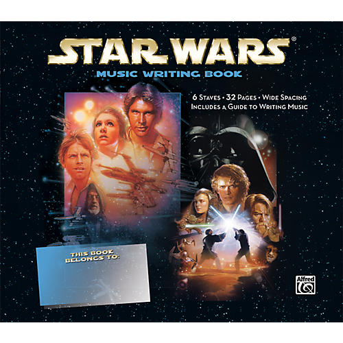 Alfred Star Wars Music Writing Book