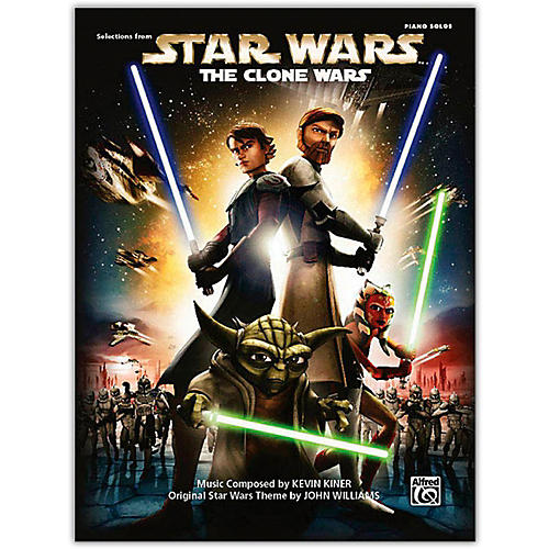 Alfred Star Wars: The Clone Wars Piano Solo Songbook