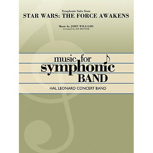 Hal Leonard Star Wars: The Force Awakens - Symphonic Suite Concert Band Level 4 Arranged by Jay Bocook