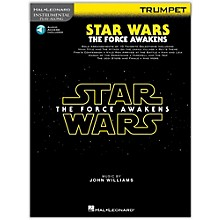 Hal Leonard Star Wars: The Force Awakens - Trumpet Instrumental Play-Along,  Book with Online Audio