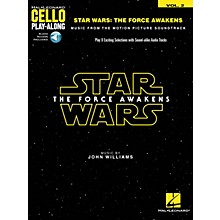 Hal Leonard Star Wars: The Force Awakens (Cello Play-Along Volume 2) Cello Play-Along Series Softcover Audio Online