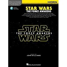 Hal Leonard Star Wars: The Force Awakens For Horn - Instrumental Play-Along Book/Online Audio