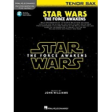 Hal Leonard Star Wars: The Force Awakens For Tenor Sax - Instrumental Play-Along Book/Online Audio