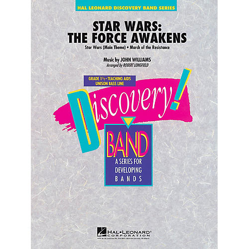 Hal Leonard Star Wars: The Force Awakens Full Score Concert Band