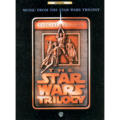 Alfred Star Wars Trilogy for Alto Sax Book