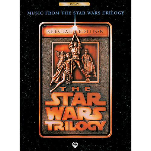 Alfred Star Wars Trilogy for Violin Book