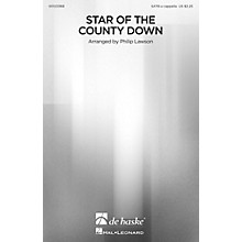 De Haske Music Star of the County Down SATB a cappella arranged by Philip Lawson
