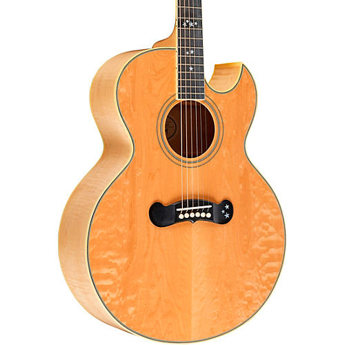Gibson Starburst 30th Anniversary Acoustic-Electric Guitar Trans Amber