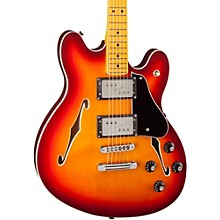 Starcaster Semi-Hollowbody Electric Guitar Aged Cherry Burst Maple Fingerboard