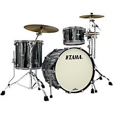 Starclassic Bubinga 3-Piece Shell Pack with Smoked Black Nickel Hardware Black Clouds and Silver Linings