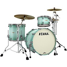 Starclassic Bubinga 3-Piece Shell Pack with Smoked Black Nickel Hardware Light Jade Burst