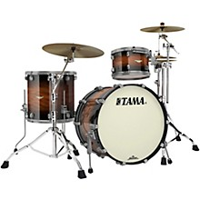 Starclassic Bubinga 3-Piece Shell Pack with Smoked Black Nickel Hardware Natural Bubinga Burst