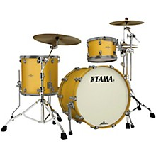 Starclassic Bubinga 3-Piece Shell Pack with Smoked Black Nickel Hardware Satin Aztec Gold Metallic