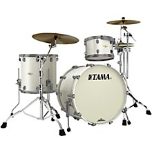 Starclassic Bubinga 3-Piece Shell Pack with Smoked Black Nickel Hardware Satin Pearl White