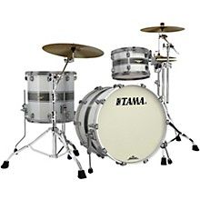 Starclassic Bubinga 3-Piece Shell Pack with Smoked Black Nickel Hardware Silver Snow Racing Stripe