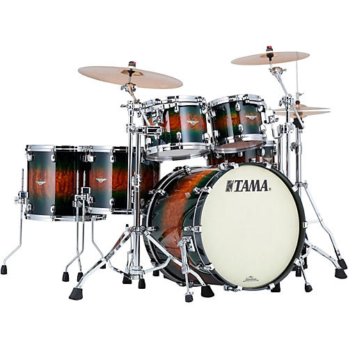 TAMA Starclassic Bubinga Exotix 5-Piece Shell Pack with Chrome Hardware