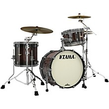Starclassic Maple 3-Piece Shell Pack with Smoked Black Nickel Hardware and 20 in. Bass Drum Dark Mocha Burst