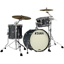 Starclassic Maple 3-Piece Shell Pack with Smoked Black Nickel Hardware and 20 in. Bass Drum Flat Black