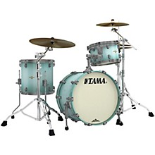 Starclassic Maple 3-Piece Shell Pack with Smoked Black Nickel Hardware and 20 in. Bass Drum Light Jade Burst