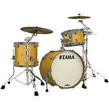 Starclassic Maple 3-Piece Shell Pack with Smoked Black Nickel Hardware and 20 in. Bass Drum Satin Aztec Gold Metallic