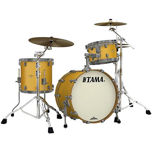 TAMA Starclassic Maple 3-Piece Shell Pack with Smoked Black Nickel Hardware and 20 in. Bass Drum