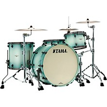Starclassic Maple 3-Piece Shell Pack with Smoked Black Nickel Hardware and 24 in. Bass Drum Light Jade Burst