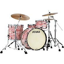 Starclassic Maple 3-piece Shell Pack with 22 in. Bass Drum Red & White Oyster