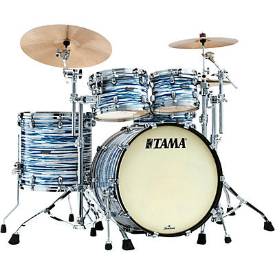 TAMA Starclassic Maple 4-Piece Shell Pack with Chrome Hardware and 22 in. Bass Drum