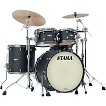 Starclassic Maple 4-Piece Shell Pack with Smoked Black Nickel Hardware and 22