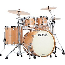 Starclassic Maple Exotix 4-Piece Shell Kit with Chrome Shell Hardware Maple Gloss Figured