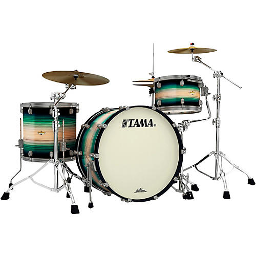 TAMA Starclassic Maple Exotix Pacific Walnut 3-Piece Shell Pack with 24