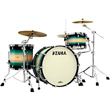 """TAMA Starclassic Maple Exotix Pacific Walnut 3-Piece Shell Pack with Black Nickel Hardware and 24"""" Bass Drum"""