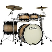 "TAMA Starclassic Maple Exotix Pacific Walnut 4-Piece Shell Pack with 22"" Bass Drum"